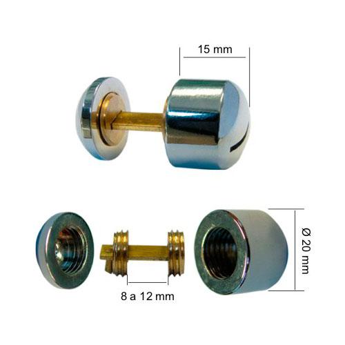 Botões de Acabamento Vitrine - Botão Lâmina