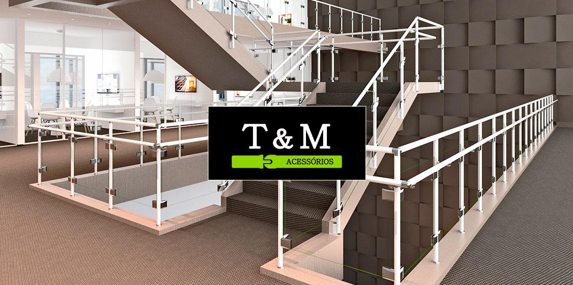 Acessórios para Corrimão T&M