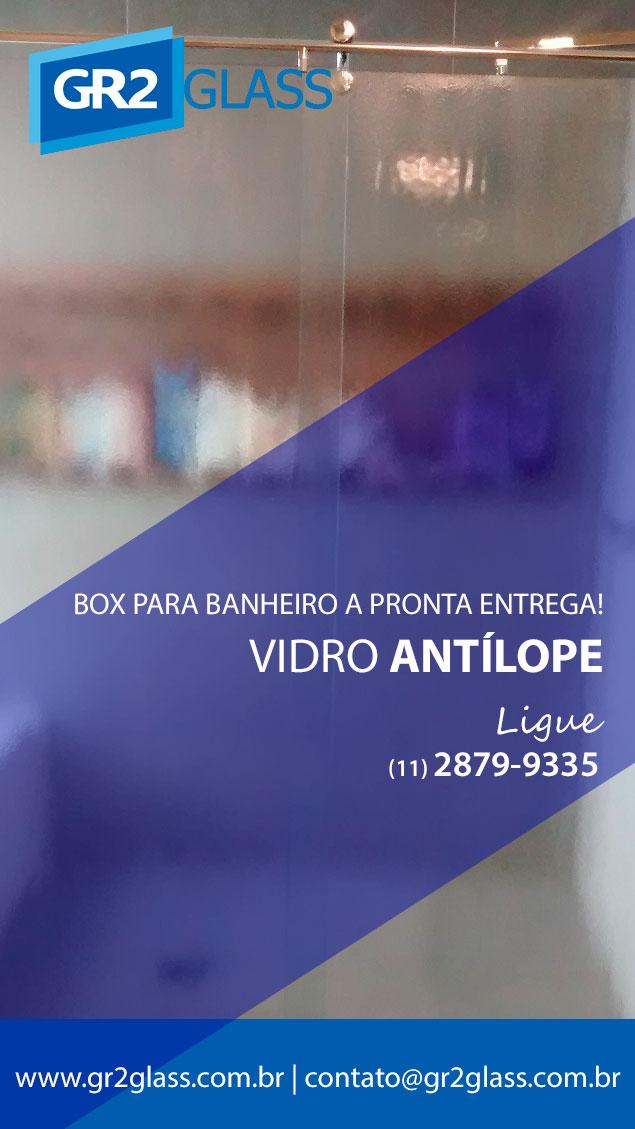 Box de Vidro Antílope