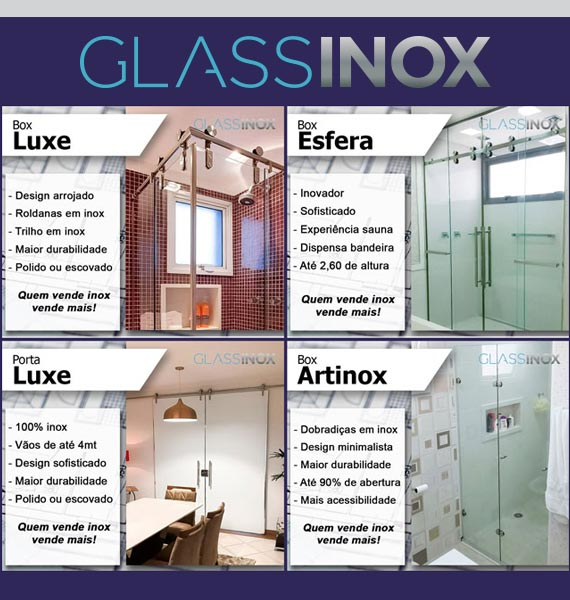 Glass Inox Box