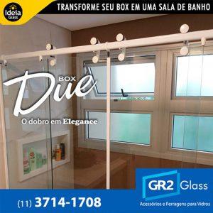 Box Due transforme seu box em uma sala de banho