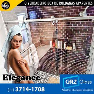 Box Elegance o verdadeiro box de roldanas aparentes