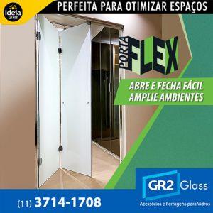 Porta Flex abre e fecha fácil