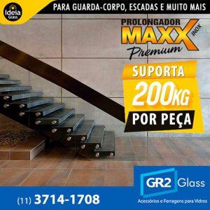Prolongador Maxx Premium suporta 200Kg por peça